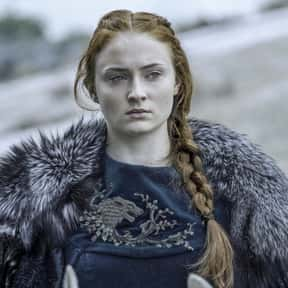 Sansa Stark is listed (or ranked) 17 on the list The Best Female Characters on TV Right Now