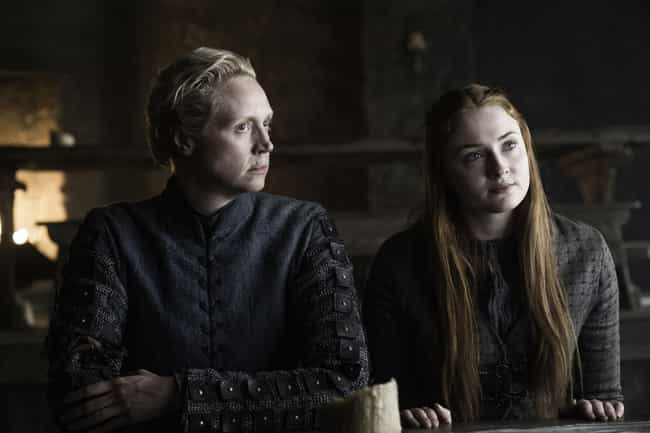Sansa Stark is listed (or ranked) 4 on the list None Of Your Favorite 'GoT' Characters Would Have Gotten Where They Are If It Wasn't For Brienne