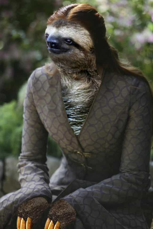 Sansa Stark is listed (or ranked) 6 on the list 13 Game of Thrones Characters as Sloths