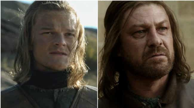 Eddard Stark is listed (or ranked) 2 on the list Game of Thrones Characters When They Were Young
