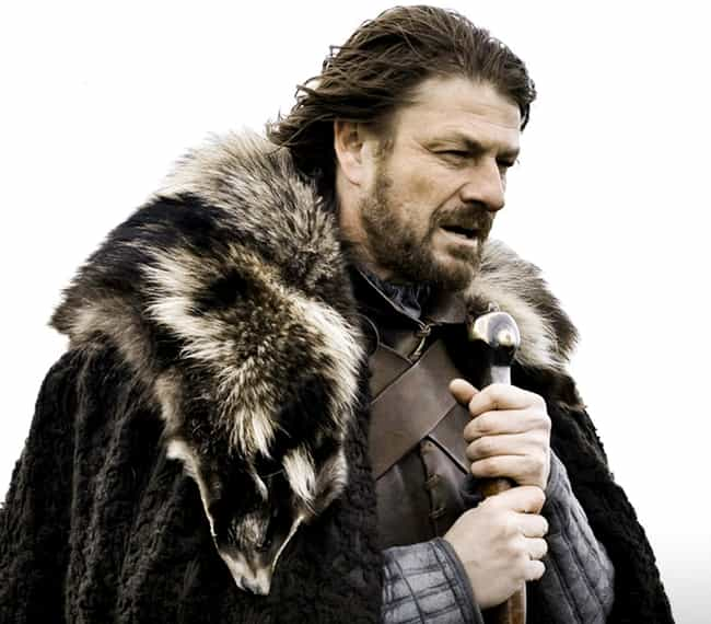 Eddard Stark is listed (or ranked) 4 on the list The Best Beards on Game of Thrones