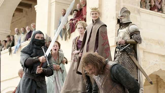Eddard Stark is listed (or ranked) 1 on the list In Memoriam: 'Game Of Thrones' Characters We Miss The Most
