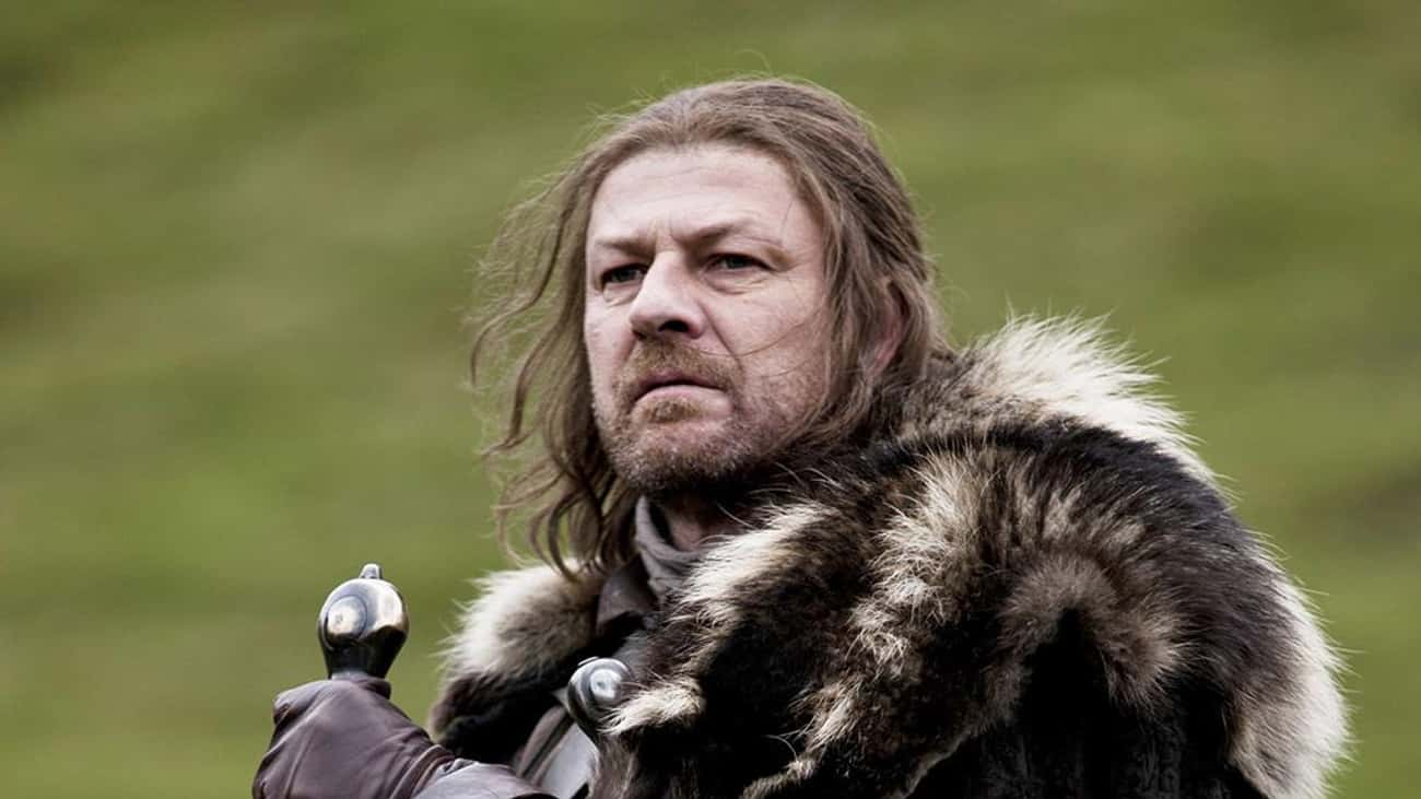 Eddard Stark is listed (or ranked) 1 on the list All Members of House Stark