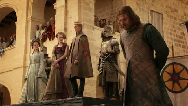 Eddard Stark is listed (or ranked) 1 on the list The Most Important 'Game of Thrones' Character Deaths