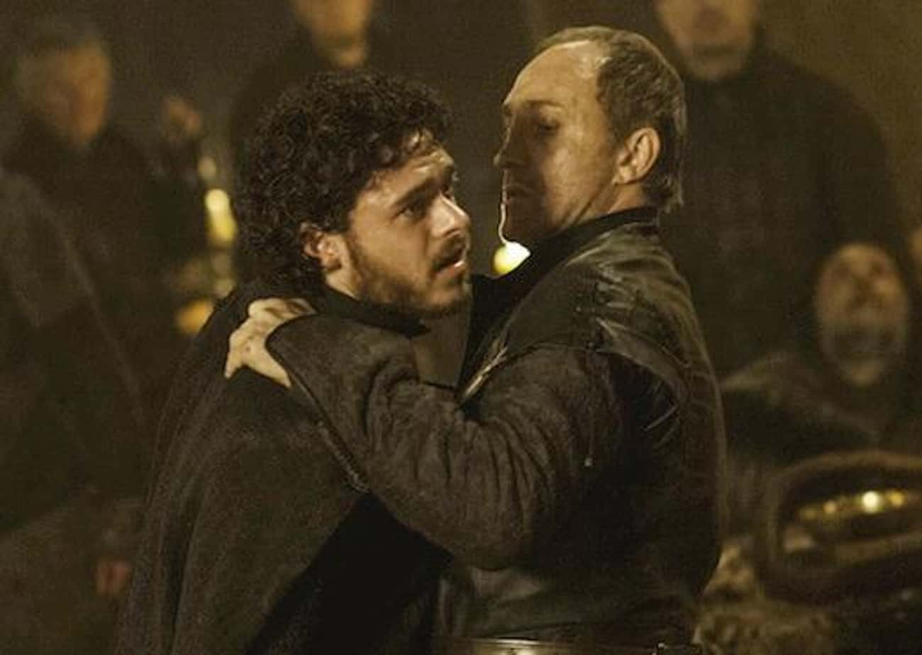 Robb Stark is listed (or ranked) 2 on the list The Most Important 'Game of Thrones' Character Deaths