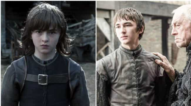 Bran Stark is listed (or ranked) 2 on the list Comparing Characters: Season One vs. Season Six