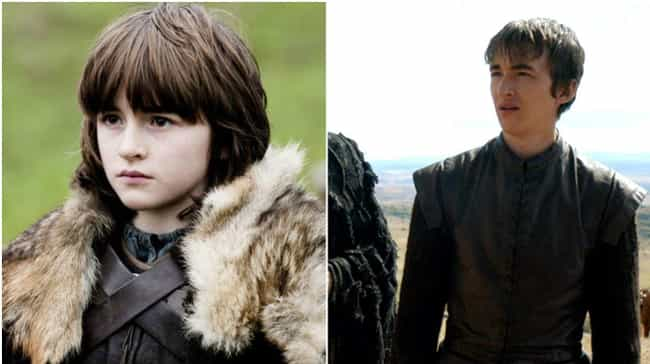 Bran Stark is listed (or ranked) 3 on the list Game of Thrones Characters When They Were Young
