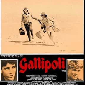 Gallipoli is listed (or ranked) 2 on the list The Greatest Australian Drama Films, Ranked