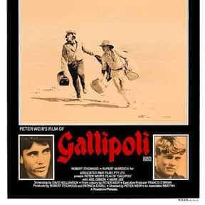 Gallipoli is listed (or ranked) 18 on the list The Best Mel Gibson Movies