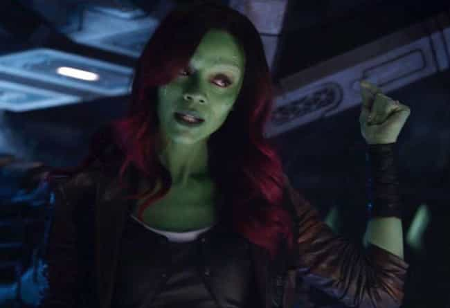 Gamora is listed (or ranked) 2 on the list 16 Members Of The MCU Whose Ages You Were Totally Wrong About