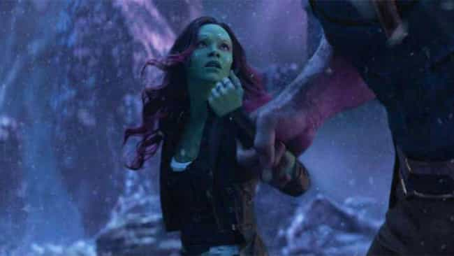 Gamora is listed (or ranked) 4 on the list The Saddest Deaths In The MCU