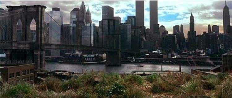 'Gangs of New York' Ends With The NYC Skyline In 2002 With The Towers