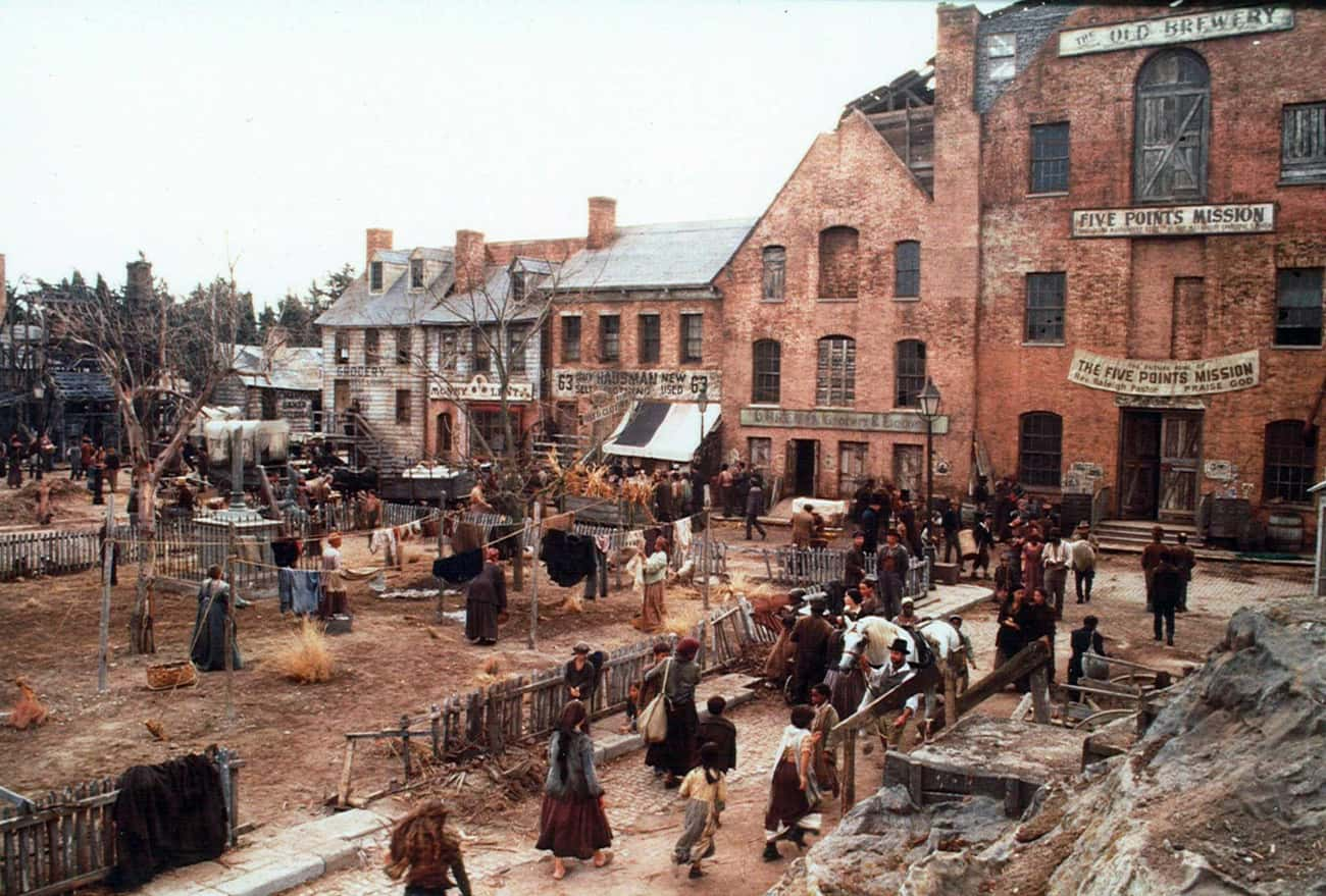 'Gangs Of New York' - Shot In  is listed (or ranked) 1 on the list Movies With Places In The Title That Weren't Actually Shot There