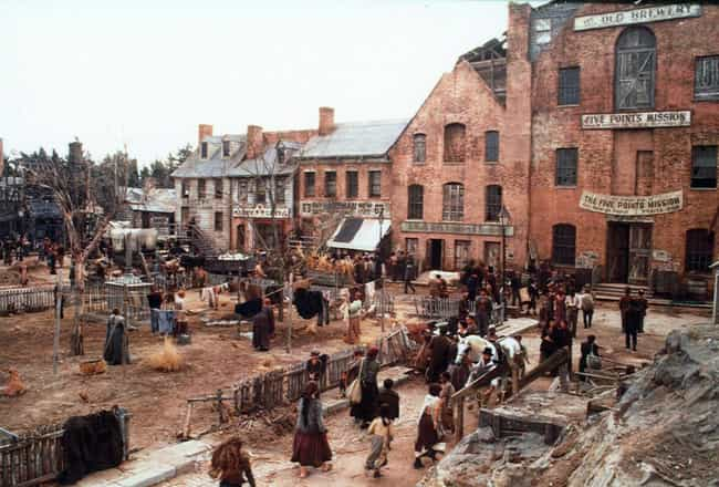 Gangs of New York is listed (or ranked) 1 on the list Movies With Places In The Title That Weren't Actually Shot There