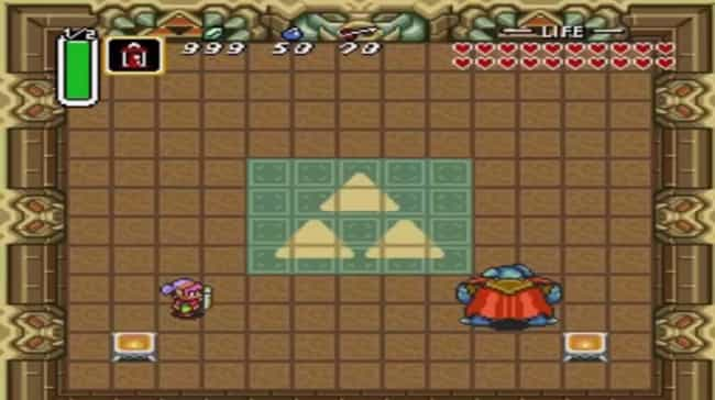 Ganon is listed (or ranked) 1 on the list All Legend of Zelda: Link to the Past Bosses Ranked Best to Worst