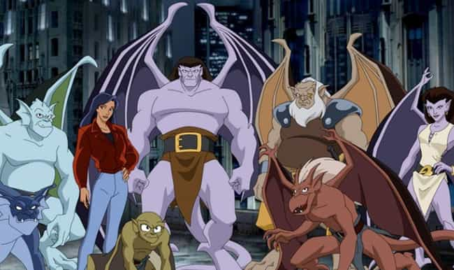Gargoyles is listed (or ranked) 3 on the list 15 Bingeable Animated Series You Didn't Realize Were On Disney+, Ranked