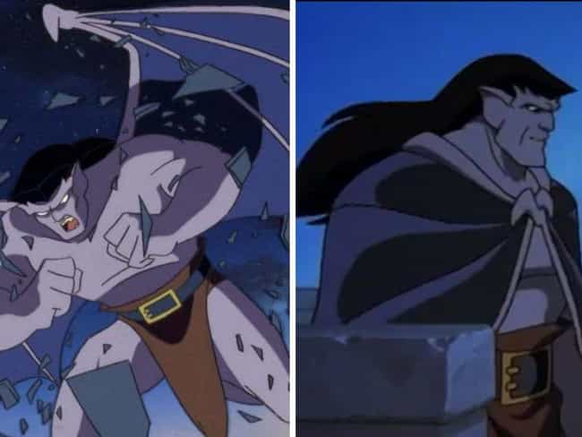 Gargoyles is listed (or ranked) 10 on the list How And Why The Animation In Your Favorite Cartoons Changed Over The Seasons