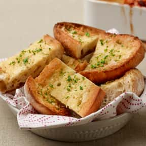 Garlic bread is listed (or ranked) 20 on the list The Most Delicious Thanksgiving Side Dishes