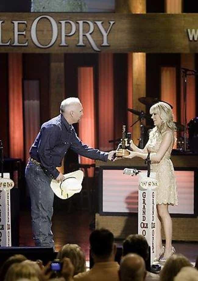 Garth Brooks is listed (or ranked) 7 on the list Famous Friends of Carrie Underwood