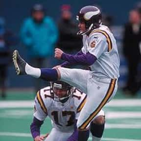 Gary Anderson is listed (or ranked) 7 on the list The Greatest NFL Kickers of All Time