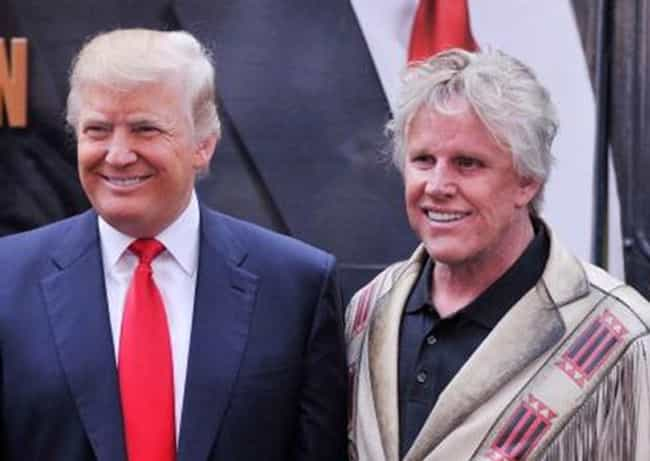 Gary Busey is listed (or ranked) 4 on the list Celebrities Who Actually Support Donald Trump