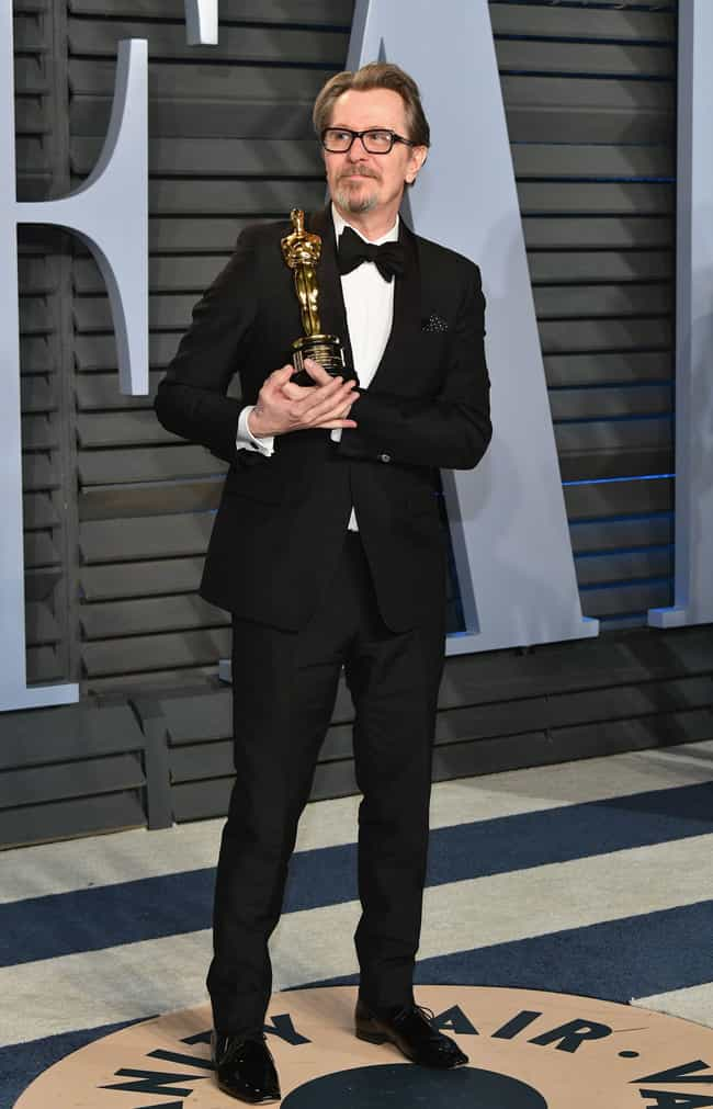 Gary Oldman is listed (or ranked) 3 on the list Best Dressed Celebs At The 2018 Oscars