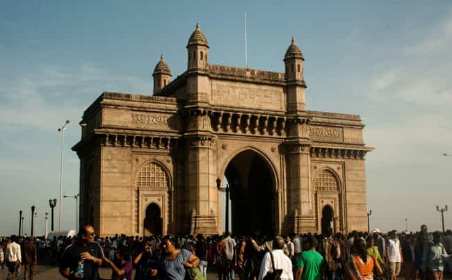 Gateway of India is listed (or ranked) 3 on the list The Most Important Gates in History