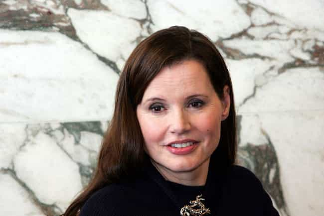 Geena Davis is listed (or ranked) 4 on the list 16 Celebrities Who Divorced After Age 60