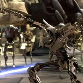 General Grievous is listed (or ranked) 16 on the list Which Star Wars Characters Deserve Spinoff Movies?