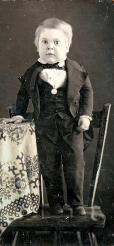 General Tom Thumb is listed (or ranked) 1 on the list 14 Astonishing Human Marvels Throughout History