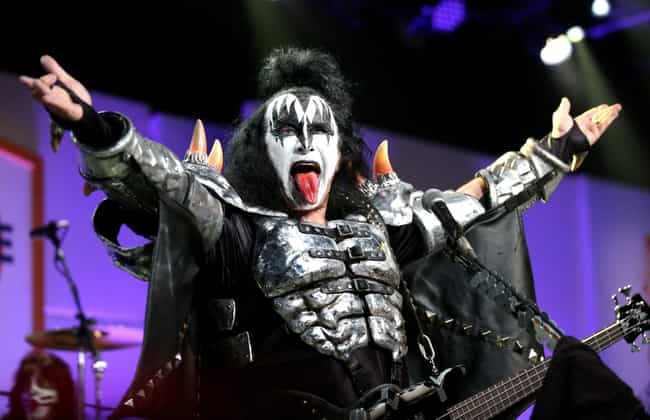 Gene Simmons is listed (or ranked) 1 on the list Famous Male Teachers