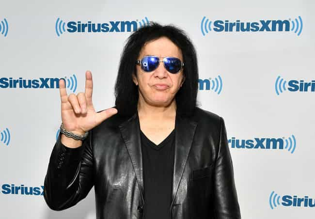 Gene Simmons is listed (or ranked) 4 on the list Celebrities With Surprising College Degrees