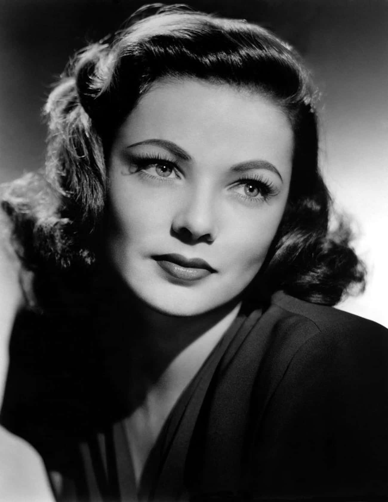 Gene Tierney is listed (or ranked) 2 on the list Famous Women Who Look Like Dolls