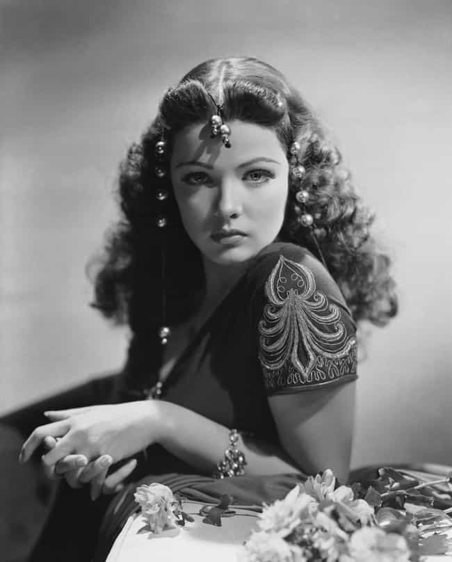 Gene Tierney is listed (or ranked) 2 on the list Famous Girls Who Look Like Dolls