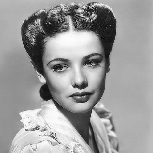 Gene Tierney Is Listed Or Ranked 1 On The List 23 Famous Actresses Of