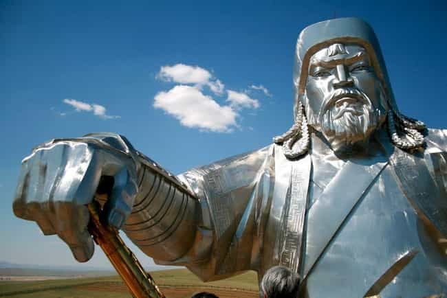 Genghis Khan is listed (or ranked) 1 on the list 14 Suave Playboys From Throughout History Who Are Actually Total Scumbags