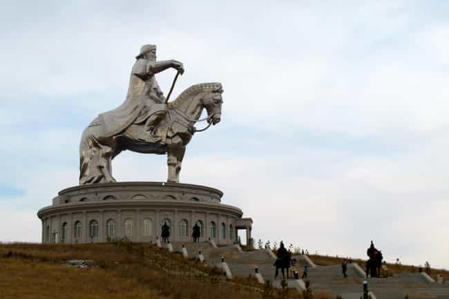 Genghis Khan is listed (or ranked) 1 on the list The Greatest Rulers of Asia who Left Their Mark in History.