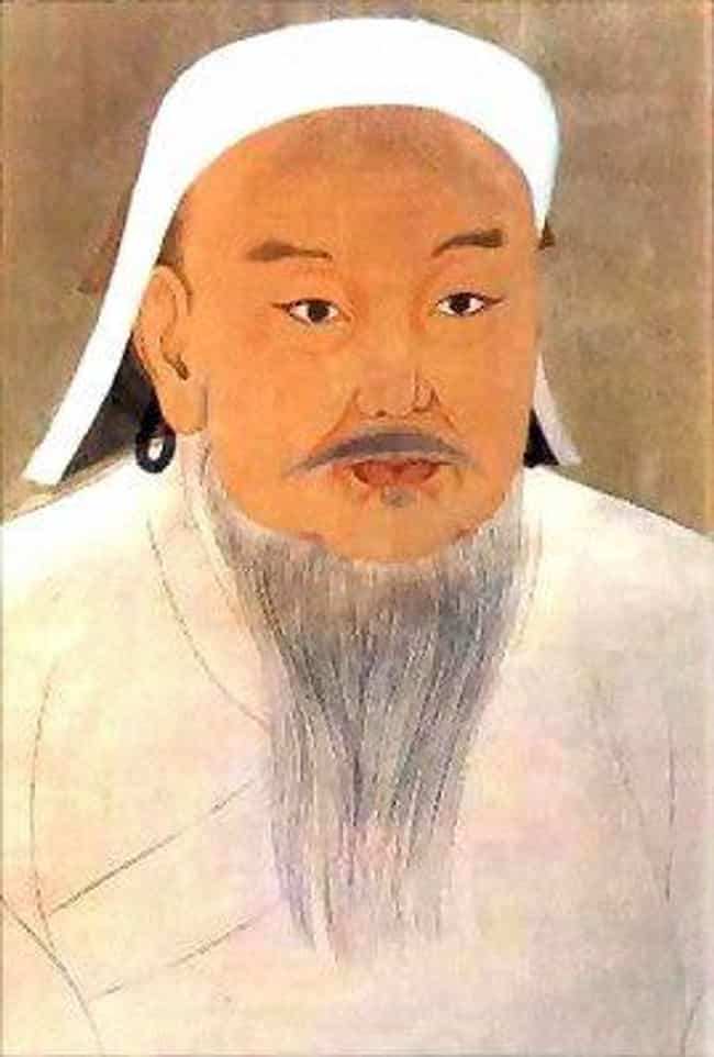 Genghis Khan is listed (or ranked) 2 on the list 12 Historical Figures Whose Tombs Have Not Been Found