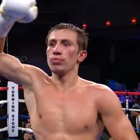 Gennady Golovkin is listed (or ranked) 10 on the list The Best Middleweight Boxers of All Time
