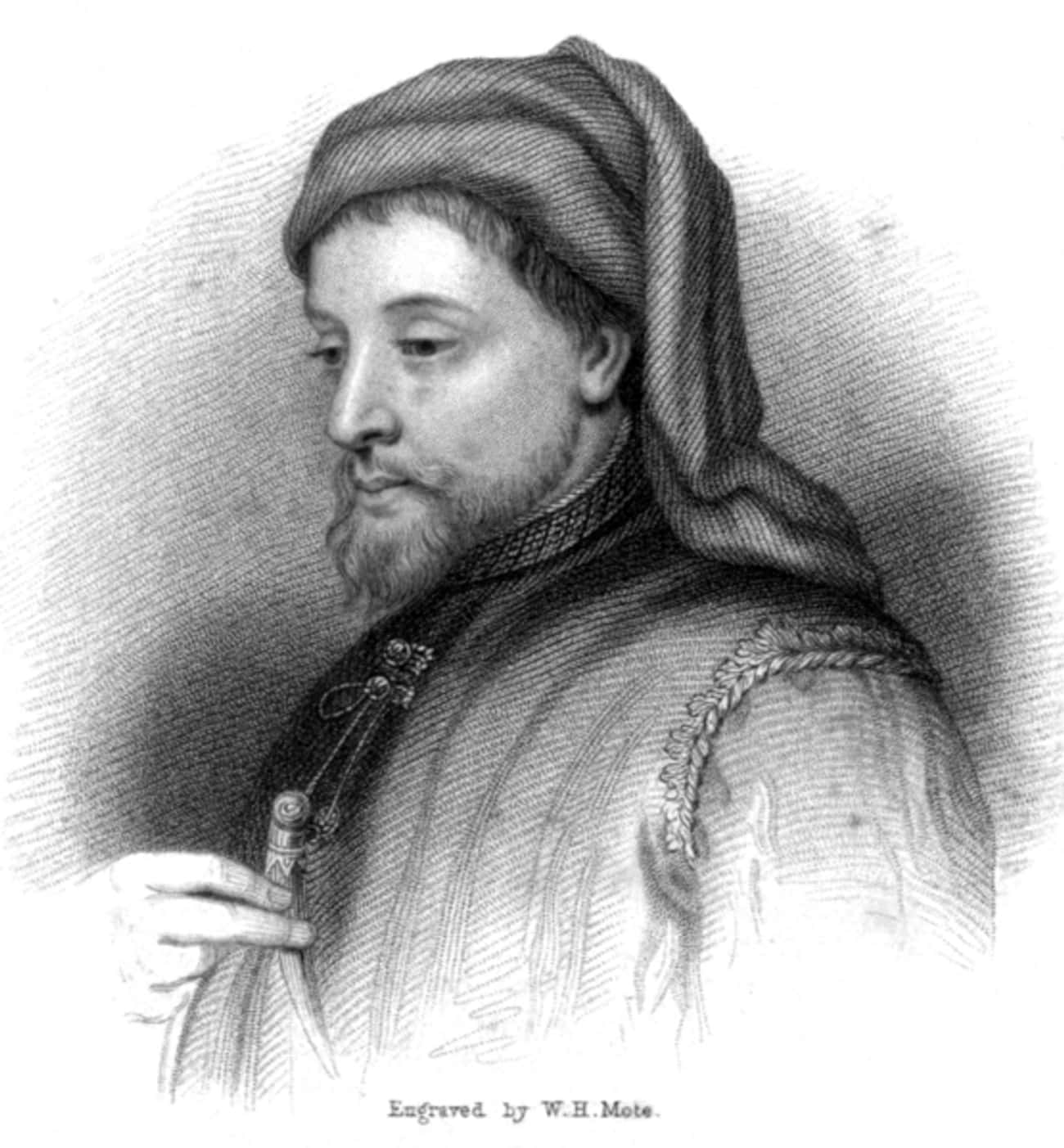 Geoffrey Chaucer is listed (or ranked) 1 on the list 12 Widely Influential Historical Figures Who Loved Fart & Dick Jokes