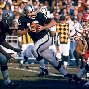 George Blanda is listed (or ranked) 20 on the list The Best Oakland Raiders Of All Time