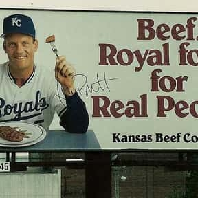 George Brett is listed (or ranked) 5 on the list Famous Virginia Military Institute Alumni
