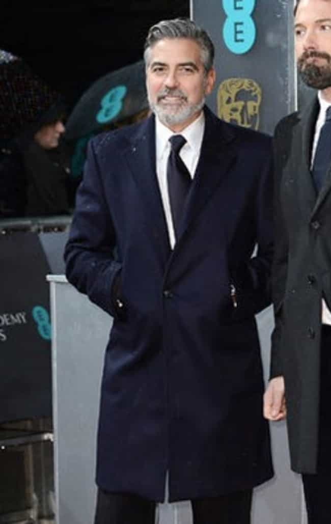 George Clooney is listed (or ranked) 4 on the list The Best Dressed Male Celebrities