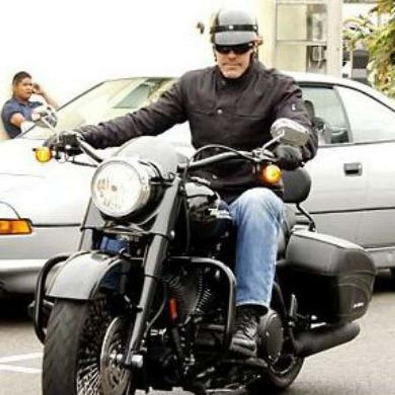 George Clooney is listed (or ranked) 2 on the list Actors Who Ride Motorcycles