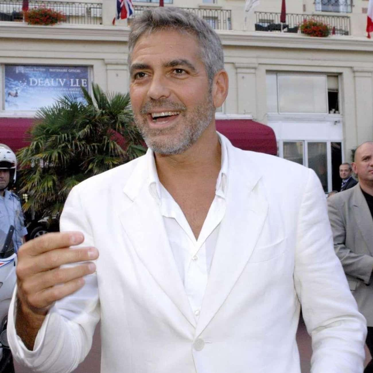 George Clooney is listed (or ranked) 1 on the list Celebrity Mavericks Fans