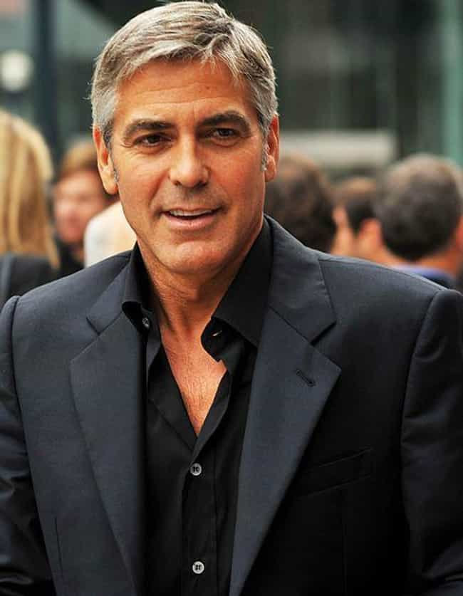 George Clooney is listed (or ranked) 3 on the list Catholic Celebrities