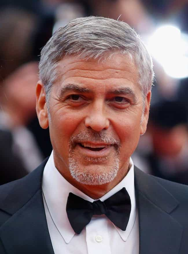 George Clooney is listed (or ranked) 1 on the list Celebrities Who Live in Italy