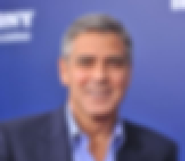 George Clooney is listed (or ranked) 4 on the list Celebrities Who Have Had Bell's Palsy