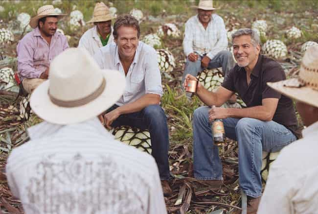 George Clooney is listed (or ranked) 4 on the list Celebrities Who Have Their Own Alcohol Brands