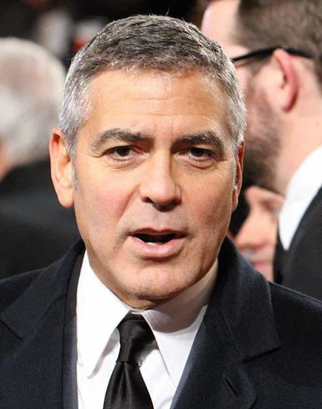 George Clooney is listed (or ranked) 4 on the list 18 Crazy Things Celebrities Have Done While High